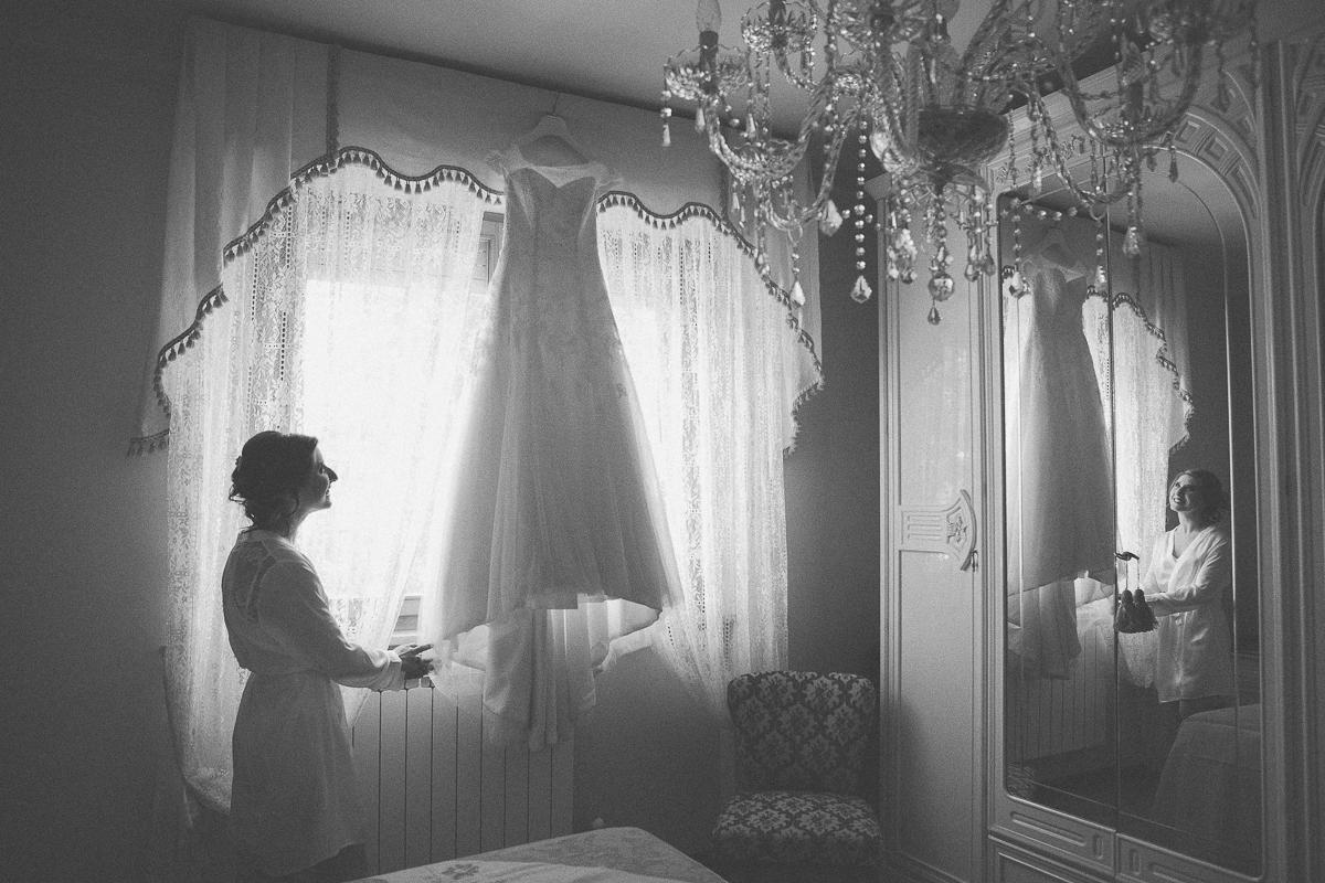fotografo matrimonio casa della sposa