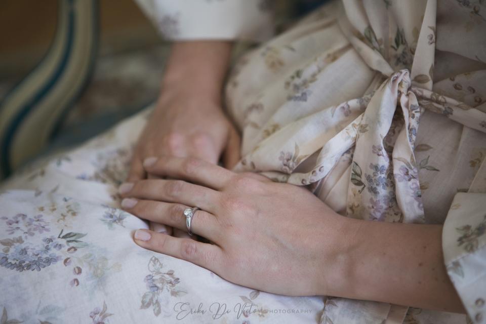 fotografie preparativi sposa villa claudia dei marchesi dal pozzo